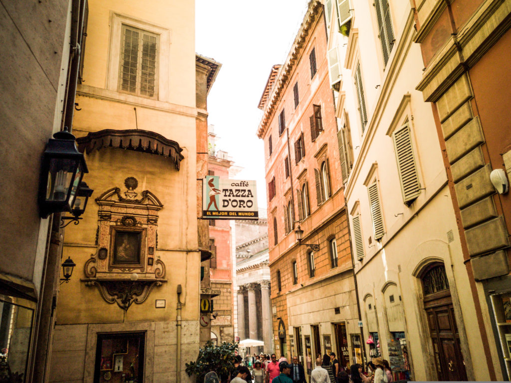 Im Herzen von Rom