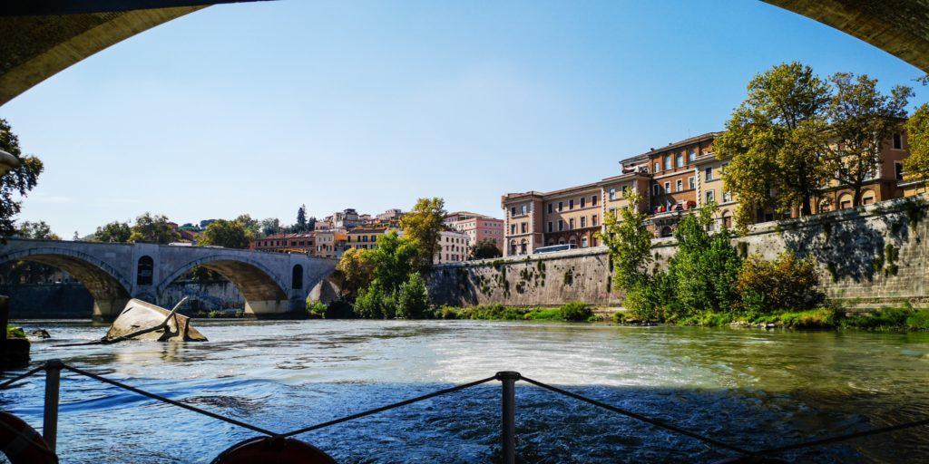 Rom zu Wasser und zu Land.
