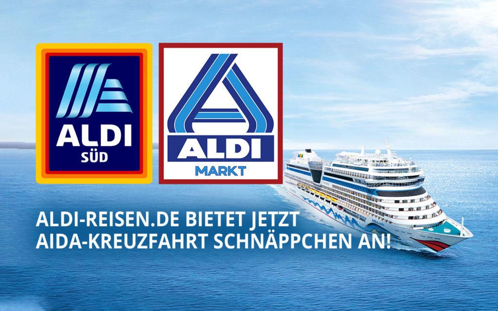 ALDI Reisen hat nun auch AIDA-Kreuzfahrten im Angebot!