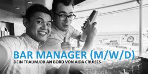 Bar-Manager - Dein Traumjob an Bord von AIDA Cruises