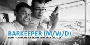 Barkeeper - Dein Traumjob an Bord von AIDA Cruises
