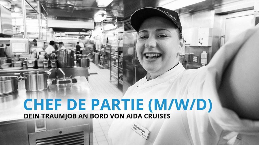 Chef de Partie - Dein Traumjob an Bord von AIDA Cruises