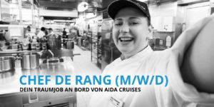 Chef de Range - Dein Traumjob an Bord von AIDA Cruises
