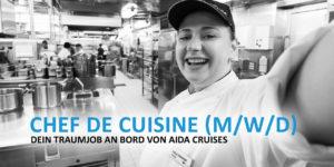 Chef de Cuisine - Dein Traumjob an Bord von AIDA Cruises