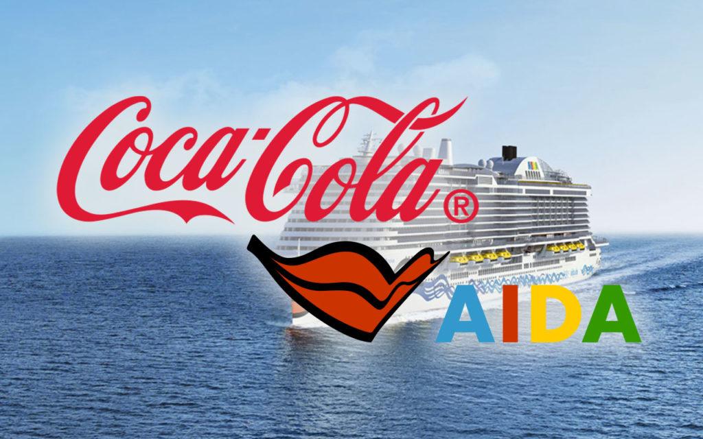 Coca Cola küsst AIDA