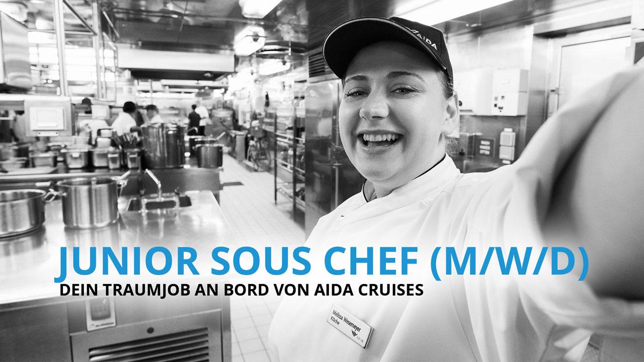 Junior Sous Chef - Dein Traumberuf an Bord von AIDA Cruises