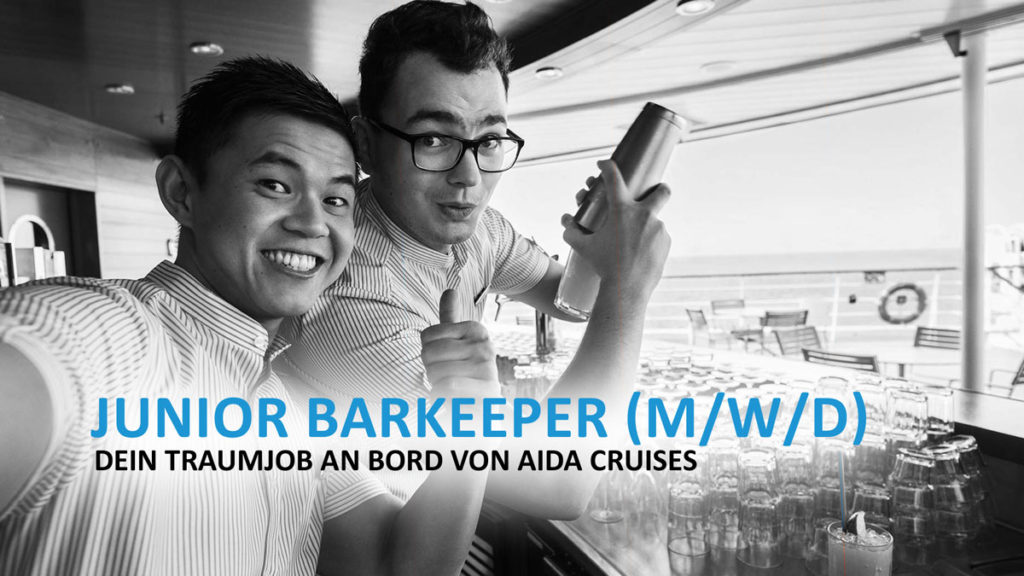 Junior Barkeeper - Dein Traumjob an Bord von AIDA Cruises