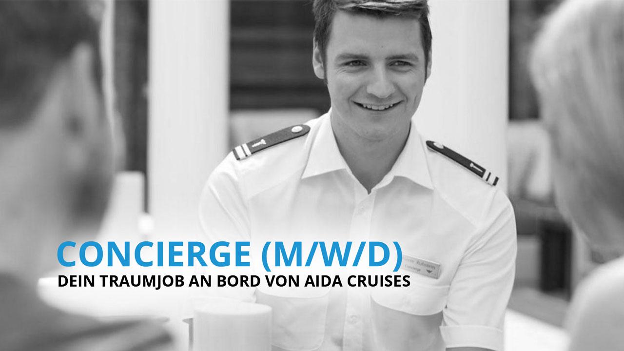Concierge - Dein Traumberuf an Bord von AIDA Cruises!