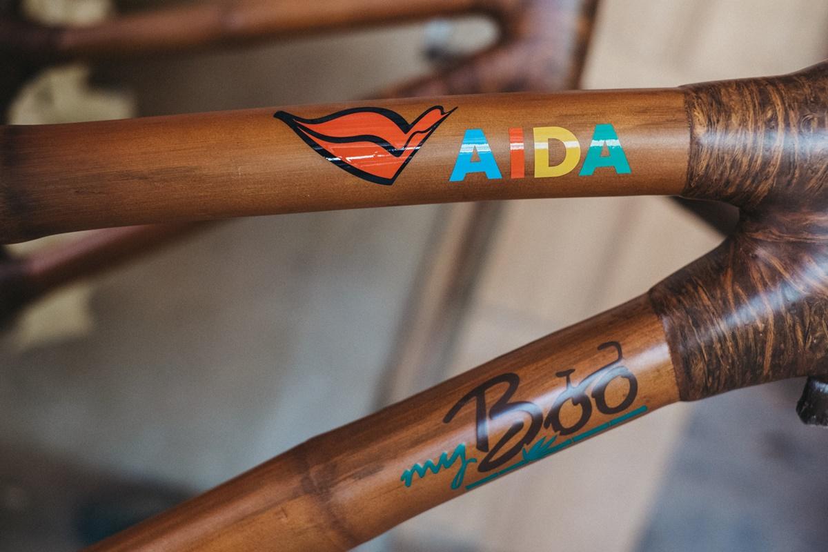 Bambusräder AIDAaura